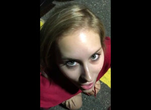 I got my gf to plow me in a public..