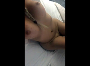 Buxomy japanese Girlfriend takes naked..