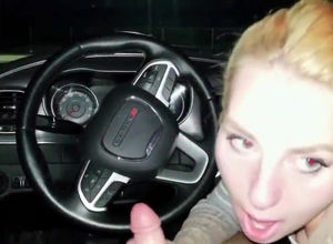 Ex-gf drinks geyser in the car before..
