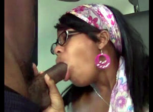 Fuck-fest starved ebony mommy taught..