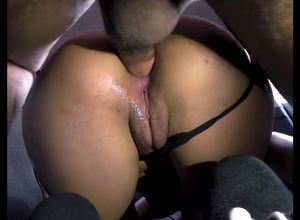 Hitchhiker raunchy buttfuck screwed..