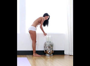 Young brown-haired deep throats and..