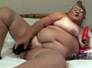 Fatty grannie still ultra-kinky and..