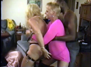 mature bi-otches swinger soiree with..