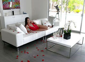 Be My Valentine! Adria Rae deep throat..