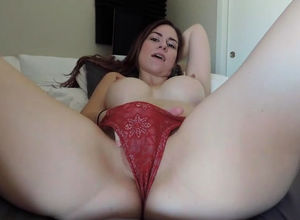 Big-titted Girlfriend with brilliant..