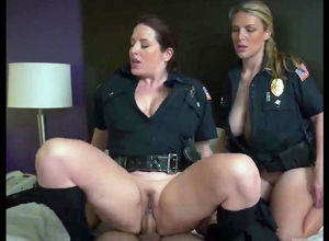 2 bigtit blondie nymphs officers..