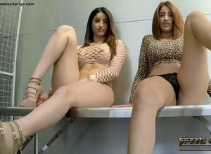 Bodacious Indian twins unclothe nude..