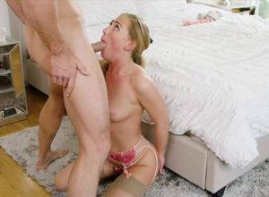 Carter Cruise lets Johnny Sins do..