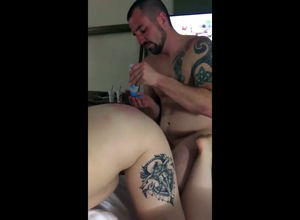 Cheating lets his buddy screw his..